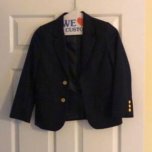 Boys navy blazer